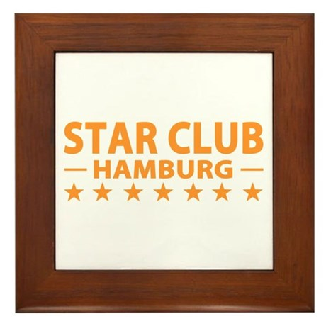 Star Club Hamburg Framed Tile