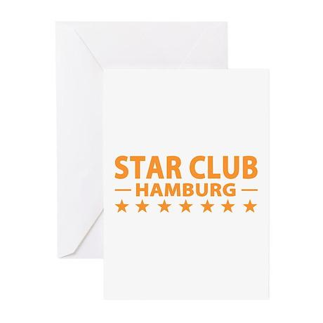 Star Club Hamburg Greeting Cards (Pk of 10)