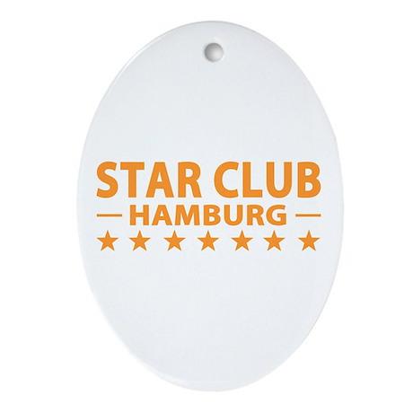 Star Club Hamburg Oval Ornament