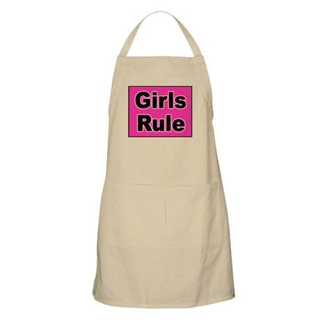 Girls Rule BBQ Apron