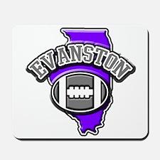 Evanston Football Mousepad