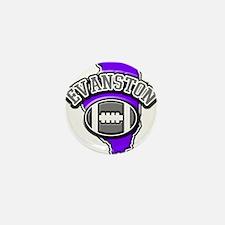 Evanston Football Mini Button