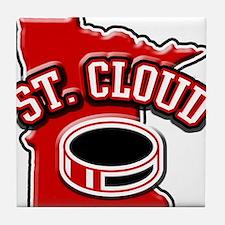St. Cloud Hockey Tile Coaster