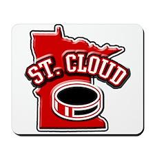 St. Cloud Hockey Mousepad