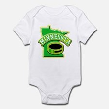 Minnesota Hockey Infant Bodysuit
