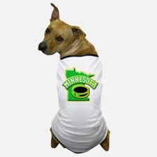 Minnesota Hockey Dog T-Shirt