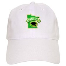 Minnesota Hockey Baseball Cap