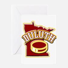 Duluth Hockey Greeting Card