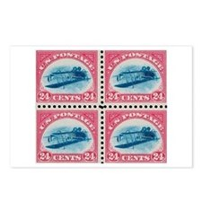 US stamp 24c Inverted Jenny Postcards (Pack of 8)