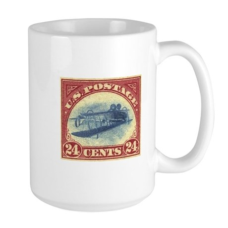 Large US stamp 24c Inverted Jenny Mug