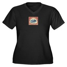 Women's +size US stamp 24c Inverted Jenny T-shirt