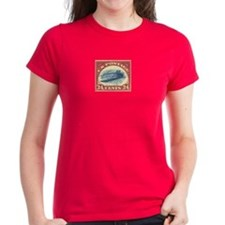 Women's US stamp 24c Inverted Jenny T-Shirt