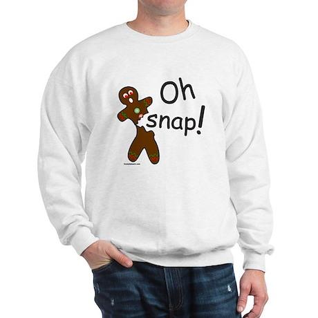 GINGERBREAD MAN OH SNAP Sweatshirt