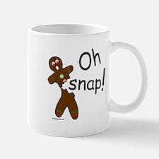 GINGERBREAD MAN OH SNAP Mug