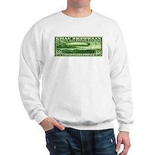 US stamp 65c Graf Zeppelin Sweatshirt