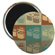 "Sushi Pop Art 2.25"" Magnet (100 pack)"