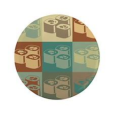 "Sushi Pop Art 3.5"" Button (100 pack)"