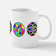 Multi Color Suns Mug