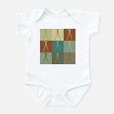 Surveying Pop Art Infant Bodysuit