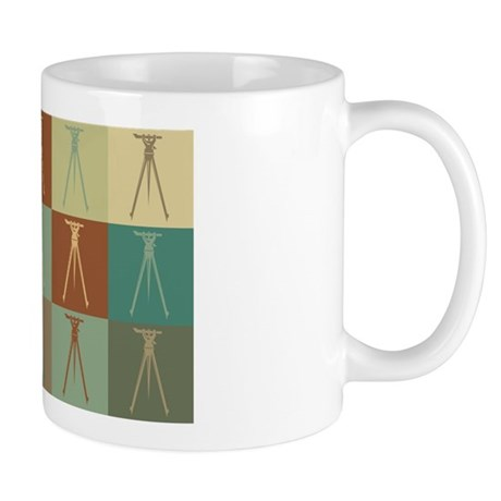 Surveying Pop Art Mug