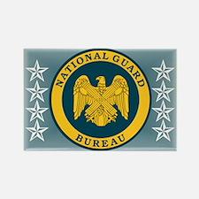 National Guard Bureau Seal Rectangle Magnet