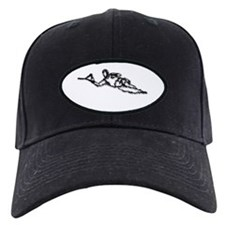 Slalom WaterSkier Baseball Hat