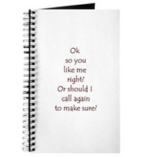 you like me right Journal