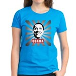 Obama Poster Women's Dark T-Shirt