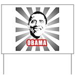 Obama Poster Yard Sign