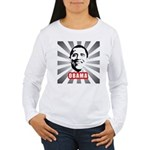 Obama Poster Women's Long Sleeve T-Shirt