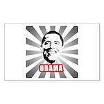 Obama Poster Rectangle Sticker