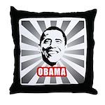 Obama Poster Throw Pillow
