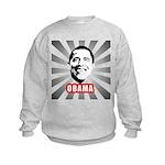 Obama Poster Kids Sweatshirt