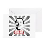 Obama Poster Greeting Cards (Pk of 20)