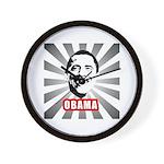 Obama Poster Wall Clock