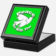 Peace Be With You Keepsake Box