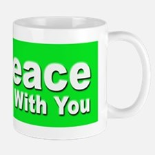 Peace Be With You Mug