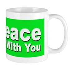 Peace Be With You Small Mug