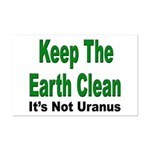 Keep the Earth Clean Mini Poster Print