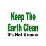 Keep the Earth Clean Postcards (Package of 8)