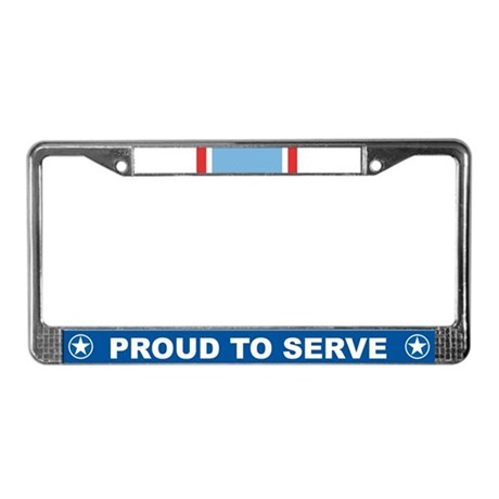 Air Force Cross License Plate Frame