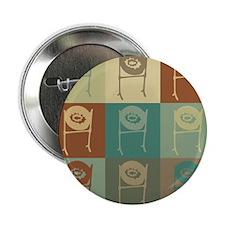 "Steel Drums Pop Art 2.25"" Button (10 pack)"