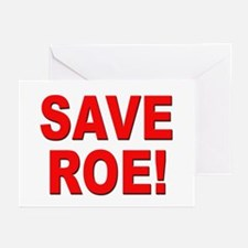 Save Roe Pro Choice Greeting Cards (Pk of 10)