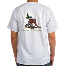 Monkey Butler Ash Grey T-Shirt