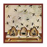 Vintage Bees (ts) Tile Coaster