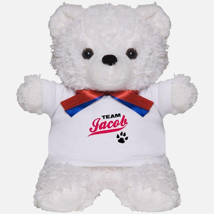 Team Jacob Twilight Teddy Bear