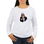 Uncle Sam Women's Long Sleeve T-Shirt