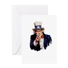 Uncle Sam Greeting Card