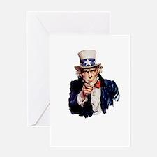 Uncle Sam Greeting Card