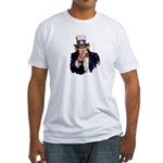 Uncle Sam Fitted T-Shirt